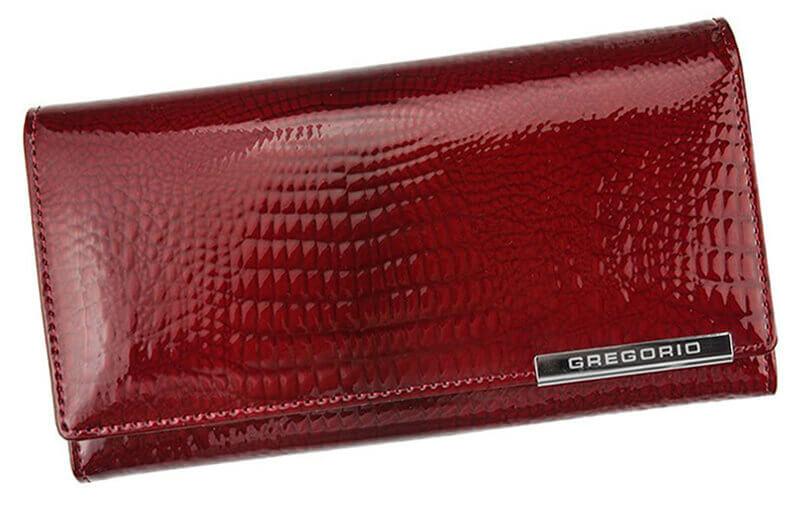 6cecd8021f TOP5 Detail produktu Dámska kožená peňaženka Gregorio GF100 červená DPN087