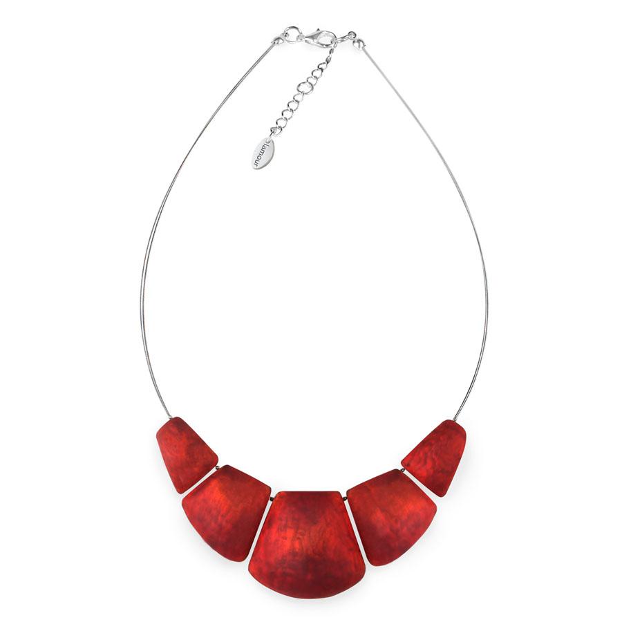 c2d7a081a Detail produktu Červený náhrdelník Moon od Lamour