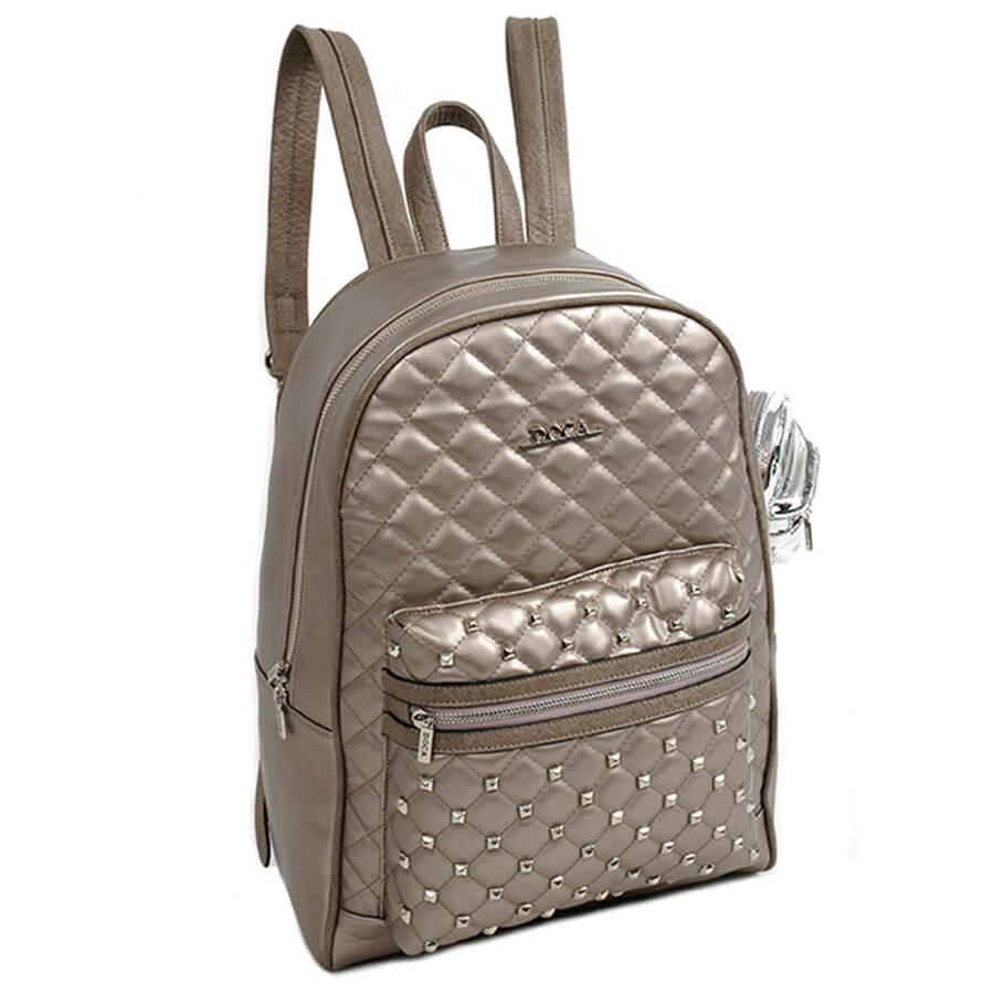 97d13c7596 DOCA - perleťový dámsky ruksak 11869 - Lamour.sk