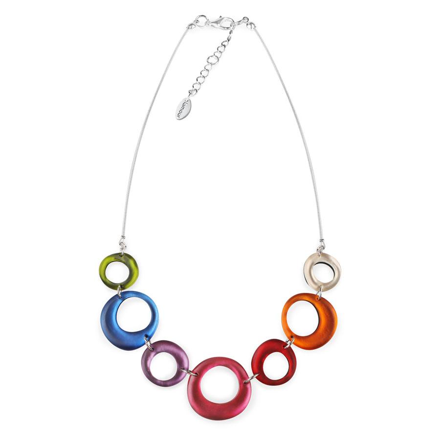 dfd508b1b Detail produktu Farebný náhrdelník Loops od Lamour