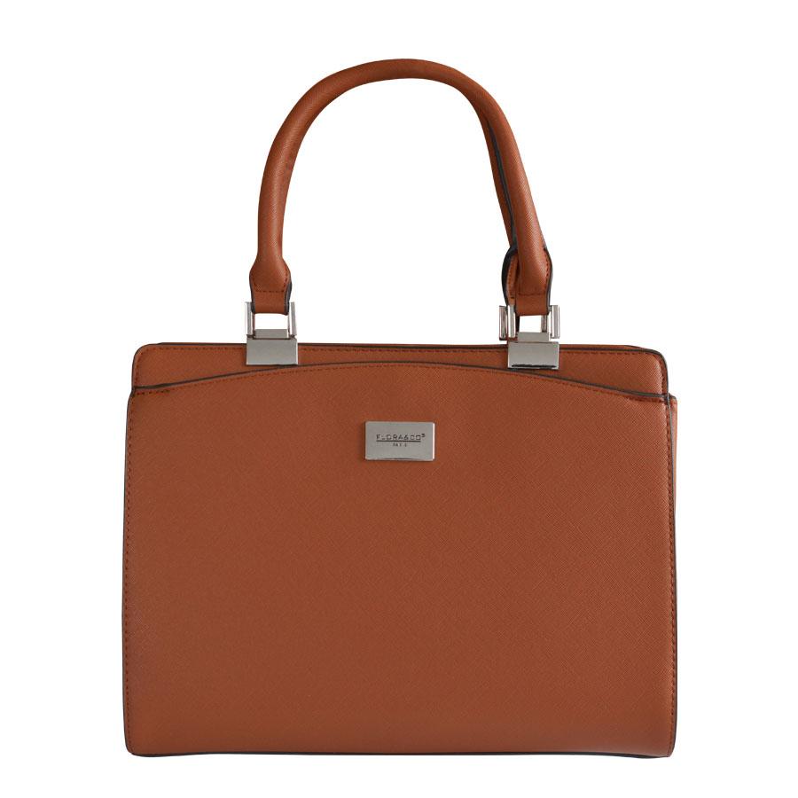 abe1e5075b87 Detail produktu Hnedá pevná kabelka do ruky Flora   Co