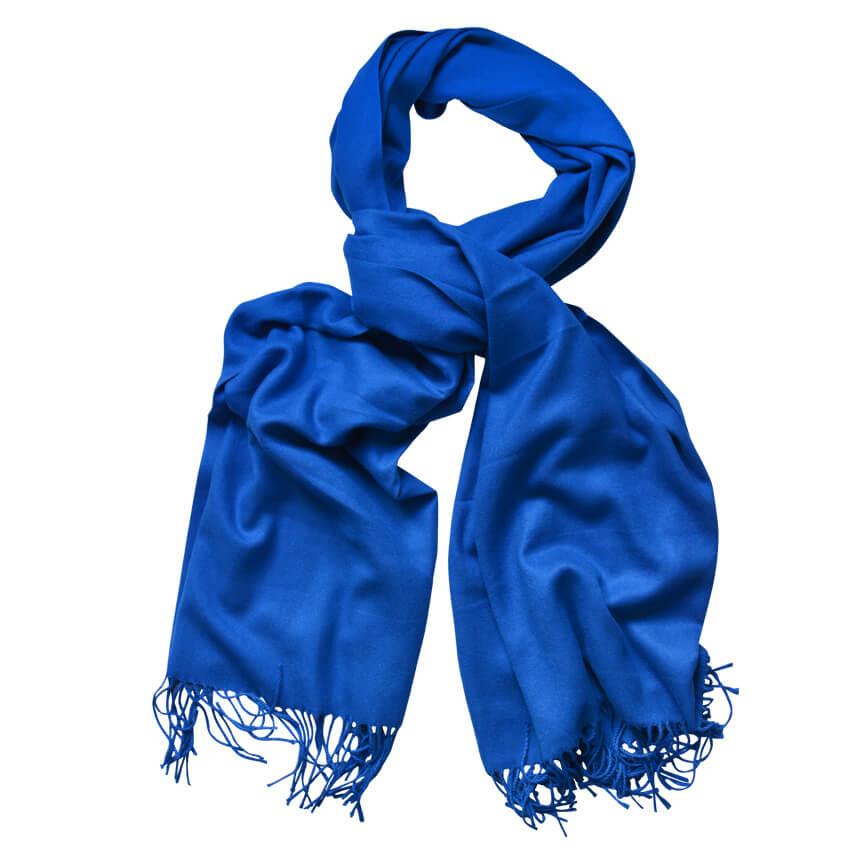 15da94ecb Detail produktu Modrá šatka Sia 180x70cm